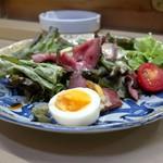 家庭料理 小川 - ローストビーフサラダ