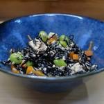 家庭料理 小川 - ひじき豆腐和え