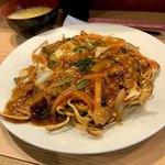 あけぼのラーメン - 料理写真:*四川焼そば(¥840)