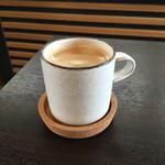 桃の農家カフェ ラペスカ - ホットコーヒー