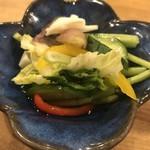 91904631 - 季節野菜のお新香
