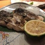 長宗我部 銀座 - サゴシ(鰆)の塩焼き