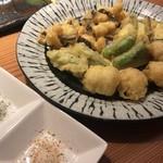 長宗我部 銀座 - ウツボとハモと高知野菜の天ぷら