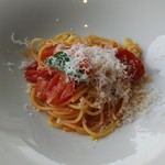 91905523 - フレッシュトマトのスパゲッティー