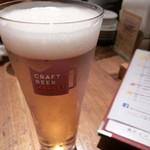 91905746 - 伊豆の国ビール ピルスナー(480円)