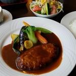 ゆう和 - 「ハンバーグステーキ」