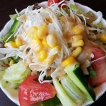 ゆう和 - 「ハンバーグステーキ」サラダ