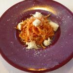 91908666 - スパゲットーニ 浜松産フルーツトマト、フレッシュモッツァレラ