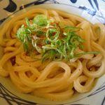 丸亀製麺 - 釜ぶっかけ並のアップ