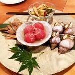 蔵葡 - 前菜:手造りおばんざい盛り合わせ