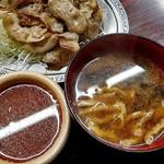 宇宙軒食堂 - タレ & 味噌汁