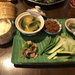 アジアン キッチン カフェ ももふく - タイプレートSP