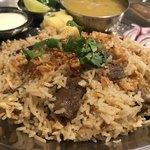アジアン キッチン カフェ ももふく - 仔羊のテハリ アップ