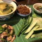 アジアン キッチン カフェ ももふく - タイプレートSP アップ
