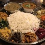 アジアン キッチン カフェ ももふく - ダルバートスペシャルアップ
