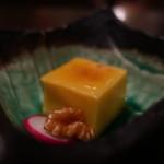 隠れ房 - 南瓜豆腐アップ