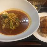 札幌スープカレー本舗 - 男のスープカレーセット