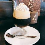 珈琲屋らんぷ - 料理写真:コーヒーゼリー