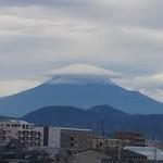 静岡油そば本舗 - 静岡市から見た霊峰富士