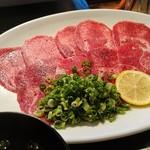 炭火焼肉 韓国苑 - 牛タンランチ(120g)