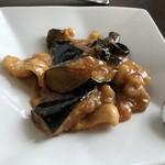 Ryuutenrou - 週替わりランチの茄子と豚肉の辛し炒め