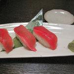 渋谷CHUBO はっぴ 桜丘店 - 『マグロ』のにぎり寿司