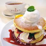 テ ニナス - 4種のベリーのパンケーキ(たしか)