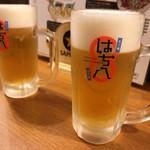 hachihachi - 生ビール×2