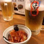 hachihachi - 特製キムチ&生ビール