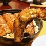 Unagikaisenryourimunagi - ⭐︎上うなぎ丼(一尾、肝吸い、香の物)@4000税込