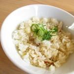 魚ろ麺 - きんき飯 280円(税込)美味いです【2018年9月】