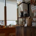 カフェ ピナ - 店内です。