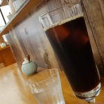 カフェ ピナ - 美味しいアイスコーヒーです。