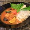 ほなの地球ごはん - 料理写真:バジル香るエビとトマトのスープカレー