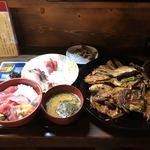 91922375 - 極み丼、チョイ刺しセット、あら煮
