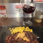 いきなり!ステーキ - ステーキと赤ワイン