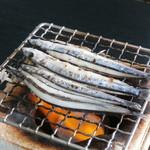 道の駅 阿久根 - きびなごを焼いていきます