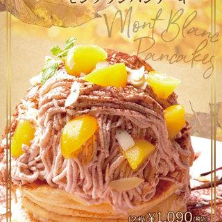 モンブランミルフィーユパンケーキ
