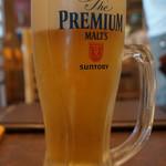 もりの屋 - 生ビール