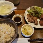 もりの屋 - 牛タンとステーキの定食