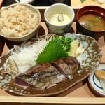 91928060 - ランチ(藁焼き定食)