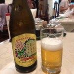 菜香新館 - 中華街限定ラベルのビール