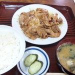 9193041 - 豚の生姜焼き定食750円