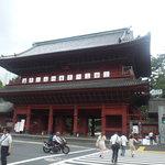 芝大門 更科布屋 - 近くには増上寺がある