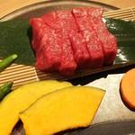 焼肉亭 - お誕生日ステーキ