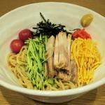 せたが屋 - 料理写真:煮干しの冷し中華850円
