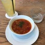 91935589 - スープとドリンク