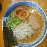 麺屋 一 - 味玉らー麺(醤油とんこつ) ¥790
