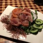 五味五感ちきんらいす - 赤貝刺身