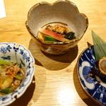 大阪うなぎ組 - 前菜